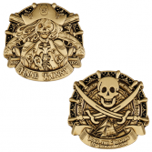 2018 Pirate Doubloon Geocoin