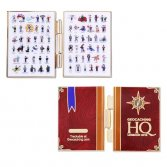 HQ Logbook Geocoin set (lackey geocoin)