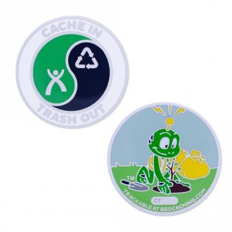 Cache In Trash Out (CITO) geocoin