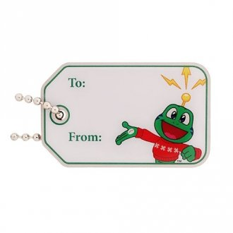 To / From Signal the Frog® Travel Tag - zelený
