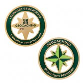 Premium member collection: geocoin