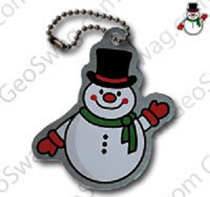 Travel Tag Snowman